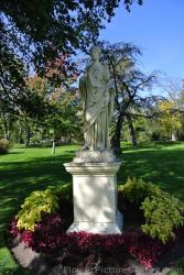 Roman woman statue at Halifax Public Gardens.jpg