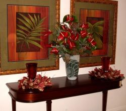 Christmas Tropical Hawaii Flowers.JPG