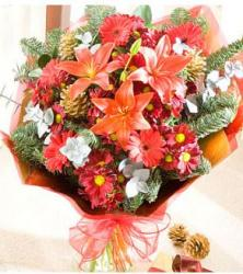 Christmas flower bouquet.JPG