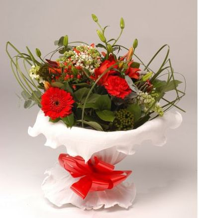 Christmas flower bouquets.JPG