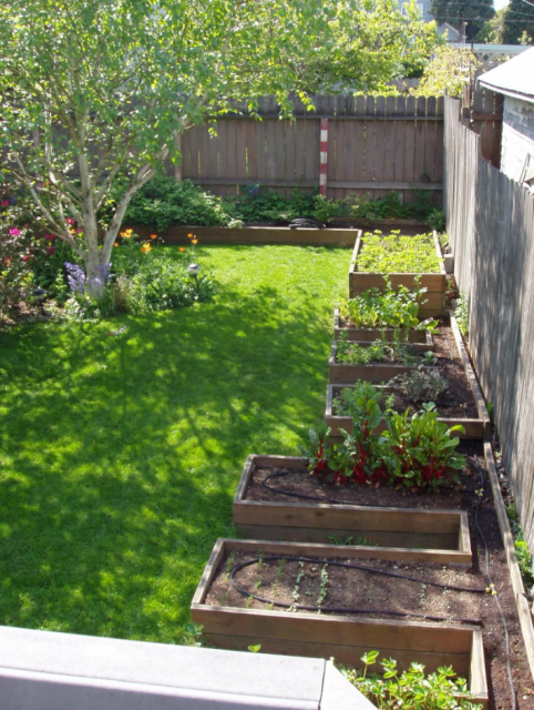 Backyard Vegetable Garden Design Pictures Backyard Vegetable Garden