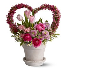 Heart shape flowers valentines day pictures.PNG