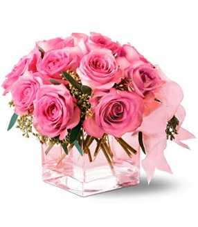 Pink valentines day bouqet with roses.PNG