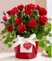 Red bouquet for valentine day.PNG