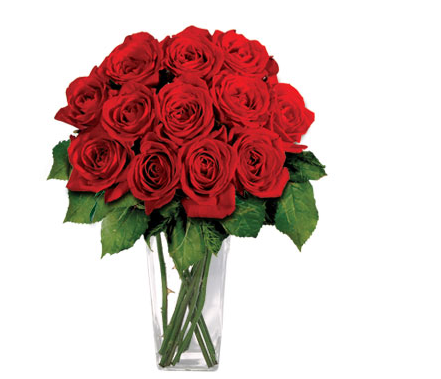 red roses arrangement for valentines day (1 comment), Ideas