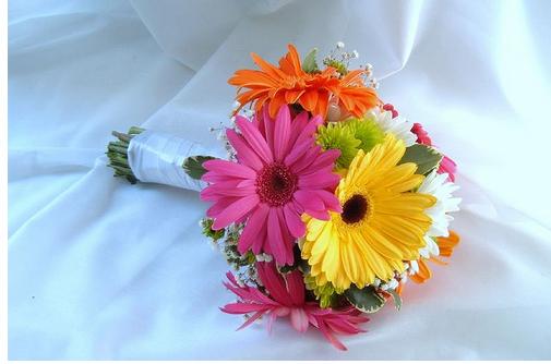 Gerbera Daisy Bouquet Annotate