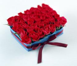 Small roses in blue box.JPG
