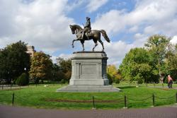 George Washing Statue at Boston Public Garden side view.jpg
