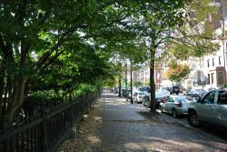 Beacon street sidewalk right outside Boston Public Garden.jpg