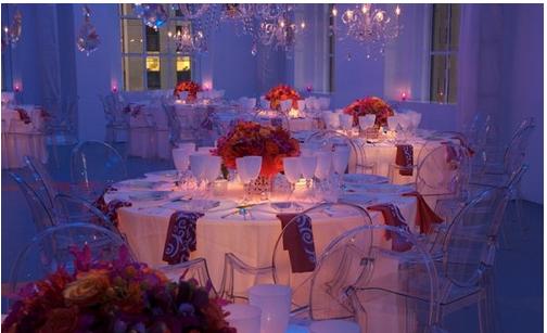 Romantic Wedding Reception Pictureg