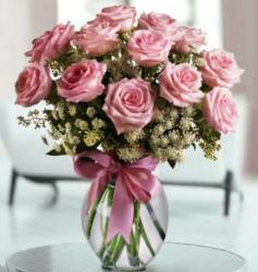 Pink Roses Valentines Day Bouquet Photos.JPG