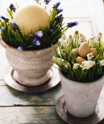 Chic Easter flowers and eggs arrangements perfect for Easter Flowers gifts photos.JPG