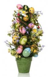 Easter eggs arrangements pictures.JPG