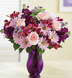 Make a mother's day flower delivery for your mother with this pretty lavender flower style.PNG