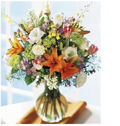 Mother's day flowers in glass vase.PNG