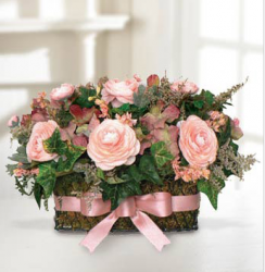Pink mother's day flower arrangement.PNG