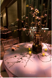 Photo of Wedding Flower Arrangement with branches and white flowers.PNG
