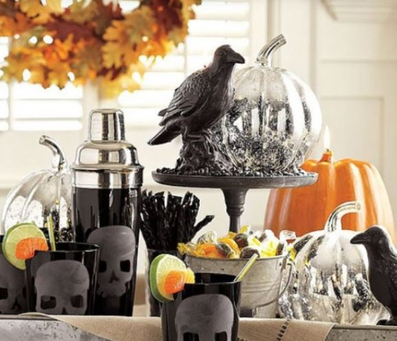 image of 2015 halloween party decor ideas flower