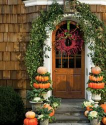 Fancy Halloween decoration photos with pumpkins.JPG