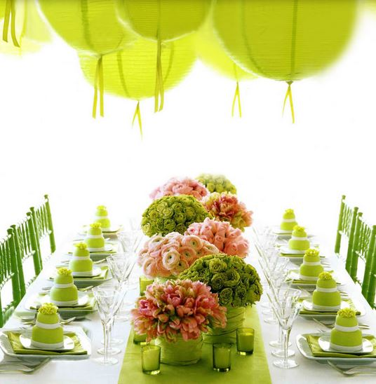 Beautiful modern wedding reception table decoration ideas pictures.JPG