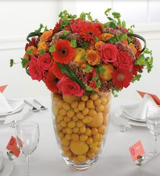Bright colored wedding table decor ideas images.JPG