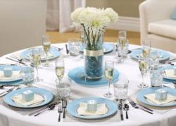 Modern cheap wedding table decor ideas pictures.JPG