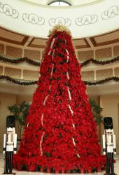 Poimsettias Christmas tree picture.JPG
