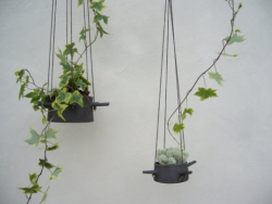 Picture of Hanging Flower Pots With Horns.PNG