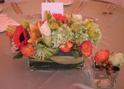 Chic and trendy wedding arrangement perfect for summer