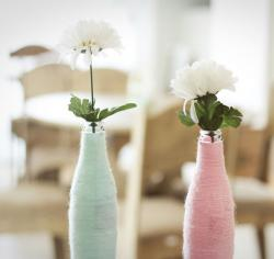 Cheap wedding table centerpieces with white flowers