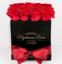Chic Valentine's Day Red Roses Gift Box