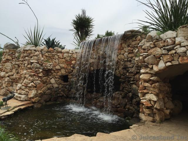 Waterfall at Lady Bird Johnson Wild Flower Center