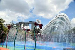 Water Park area at Gardens by the Bay Children's Garden