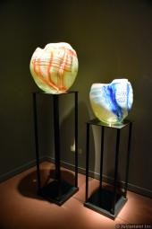 Artistic Vases at Chihuly Garden and Glass