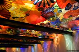 Glass Sculpture Ceiling