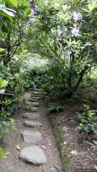 Stone Steps on a Path at Kubota Garden
