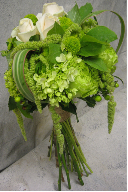 Chic green and white bouquet.PNG