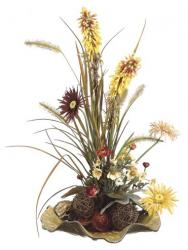 holiday dried silk flowers.jpg
