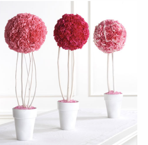Modern wedding centerpieces with pink color themeg junglespirit Choice Image