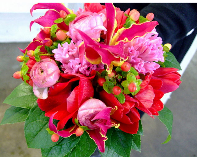Bright flowers bridal bouquet images png for Bright wedding bouquet