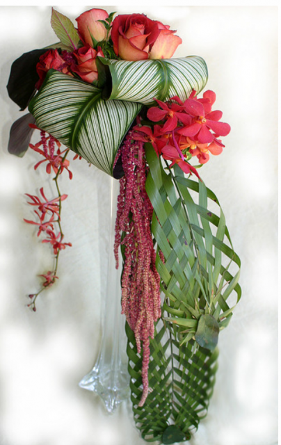Tropical Flower Wedding Bouquet
