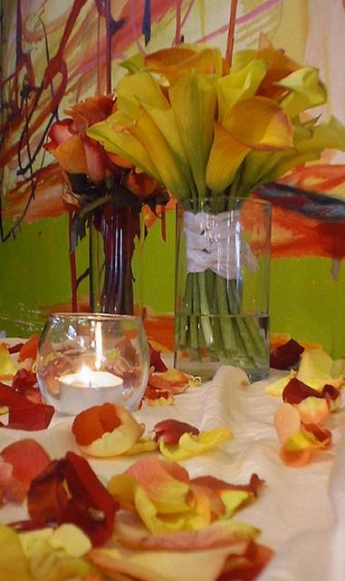 Summer flowers centerpiece ideas photos