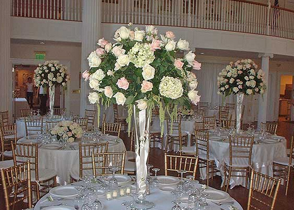 Wedding center piece idea photos png for Center arrangements for weddings