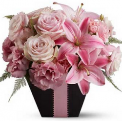 Pink chic birthday bouquet pictures.PNG