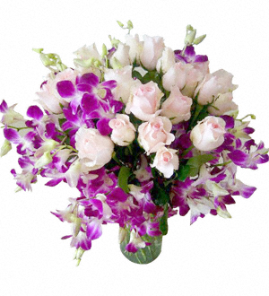 Cheap Flower Vases on Orchids Vase Arrangement