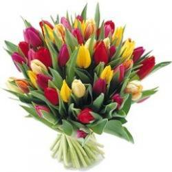 coloful bridal bouquet with tulips picture.jpg