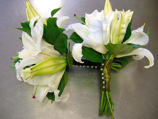 Being Inspired By Calla Lilies Wedding Bouquets Photos