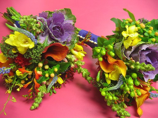 Colorful Wedding Bouquets