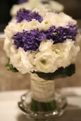 elegant with purple and white flowers bouquet wedding.jpg