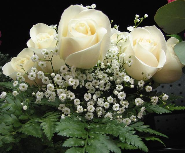 white flowers wedding bouquet.jpg Hi-Res 720p HD